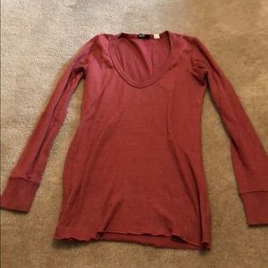 Urban Outfitters BDG Rust Long Sleeved T-shirt